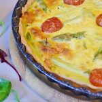Impossible Quiche with Pastured Free Range Eggs